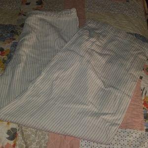 DKNY classic wide leg pants